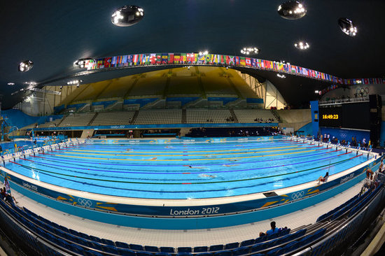 Fun Facts About The 2012 Olympic Swimming Pool Popsugar Tech