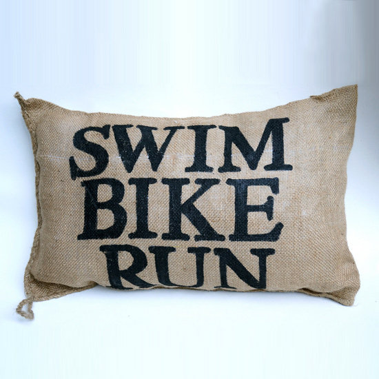 Triathlete Pillow