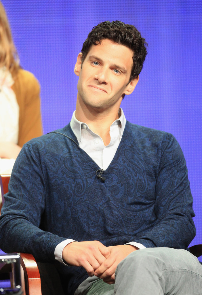 Justin Bartha plays Andrew Rannells partner in The New Normal.