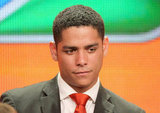 Chicago Fire's Charlie Barnett addressed the press.