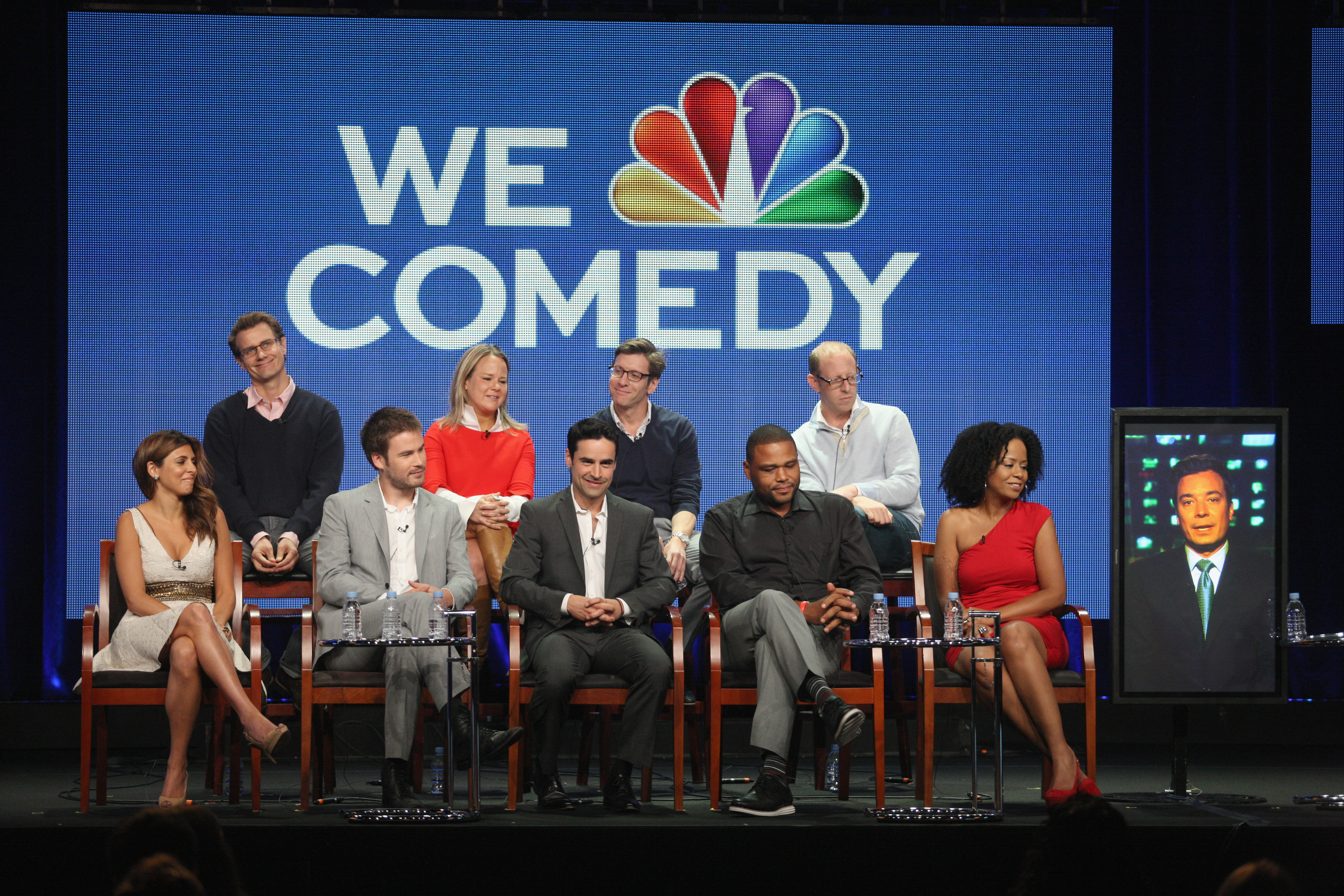 The cast and crew of Guys With Kids spoke to the press at the show's TCA panel.