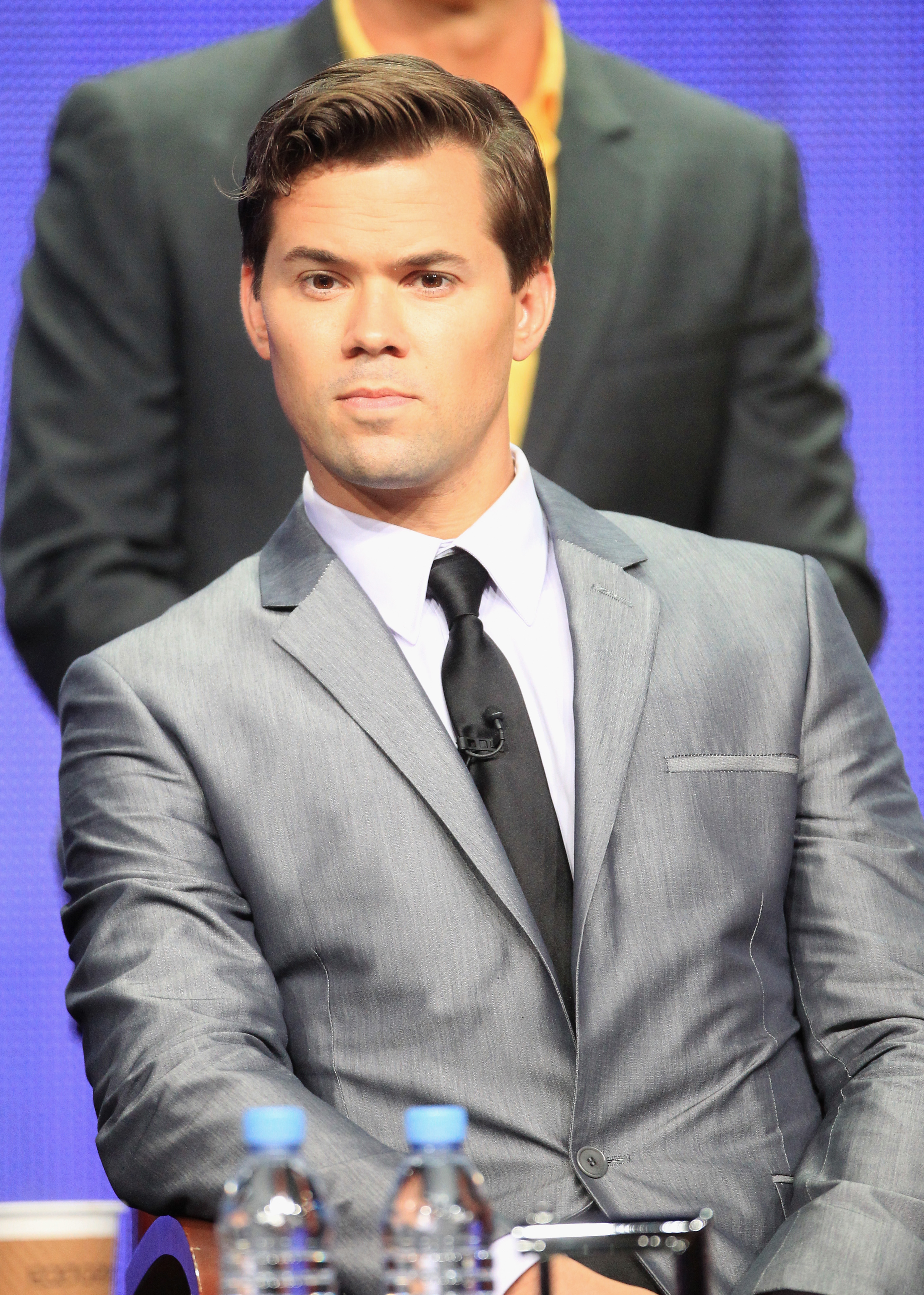 Andrew Rannells plays one half of the show's central couple.