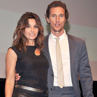 Matthew McConaughey Killer Joe Screening Pictures