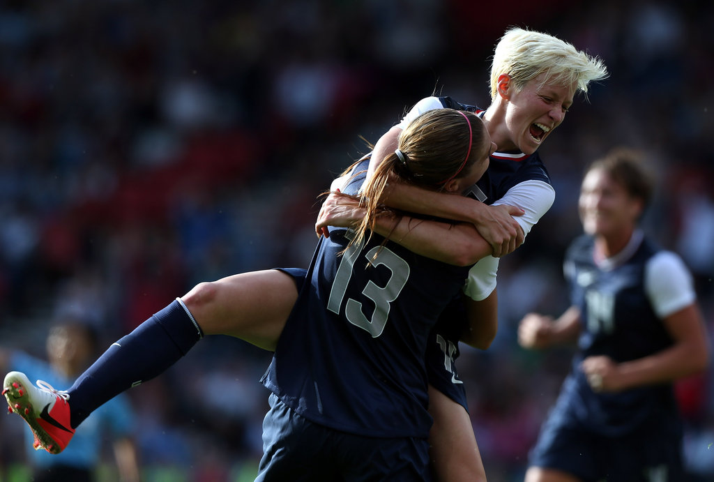 Olympic fever started early for the US women's soccer team who beat France during their first game today.