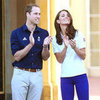 Kate Middleton, Prince William and Prince Harry Pictures With Olympic Torch