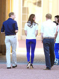 Kate Middleton, William and Harry Get Up Close With Olympic Torch
