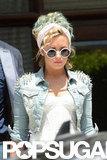 Demi Lovato left her Miami hotel.