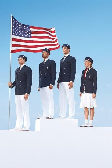 This year's Olympic uniform is a clean, crisp take on Americana wares — all designed by the iconic Ralph Lauren.