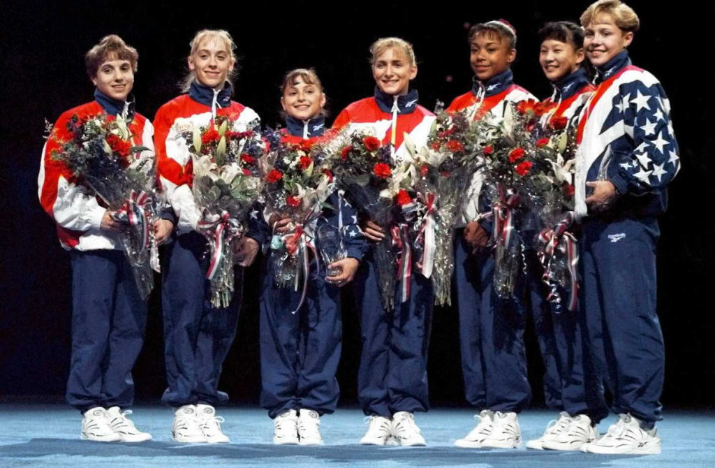 Team USA at the 1996 Olympics