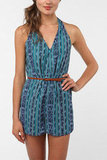 We love this romper for its cool tribal print and easy-to-wear silhouette.  Reformed By The Reformation Lina Romper ($69)