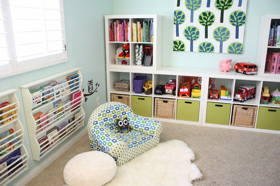 A Playroom Reading Space