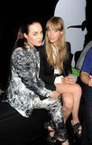 Tallulah Harlech and Edie Campbell