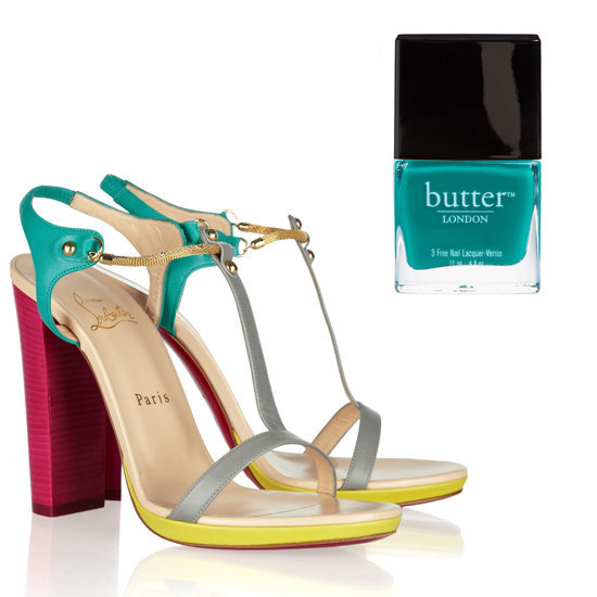 15 Glamorous Sandal and Polish Pairings