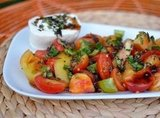 Caprese Salad With Salted Tomatoes