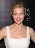 Kelly Rutherford wore a white dress to Camila Alves's event in NYC.
