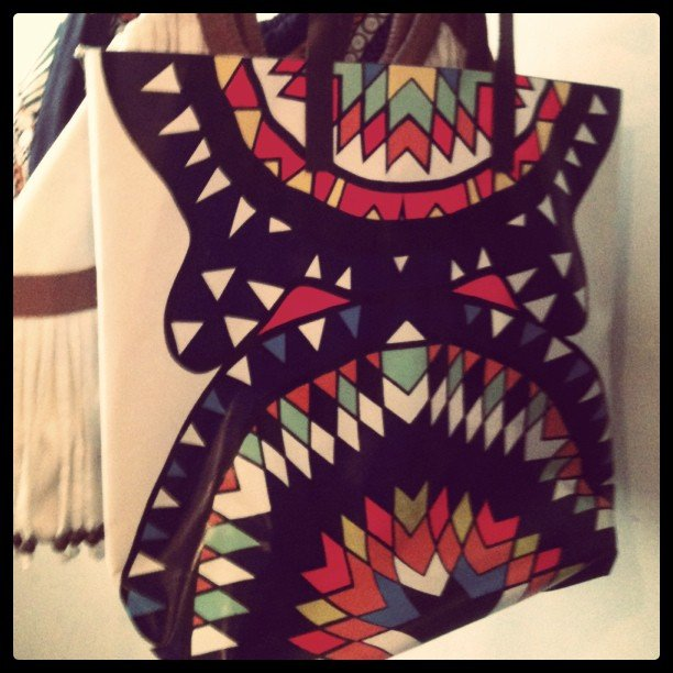 Now that's a statement tote — direct from Mara Hoffman's (who else?!) Resort line.