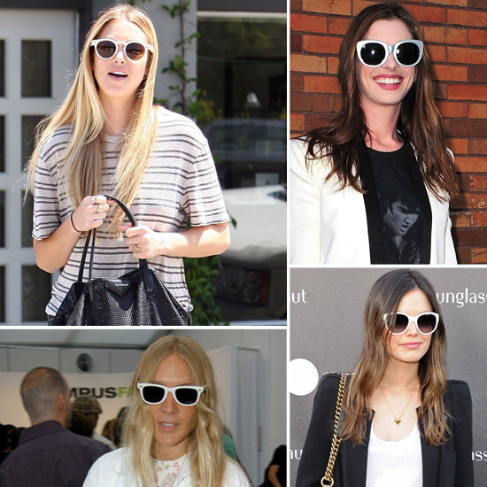 Fresh and fun white shades are a celeb favorite for Summer, so get your own!