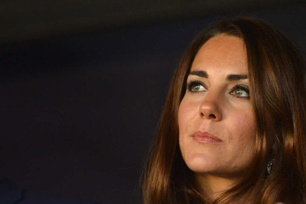 Kate Middleton watched the opening ceremony.