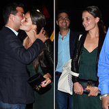Katie Holmes Glows During Dinner Out in NYC With a Guy