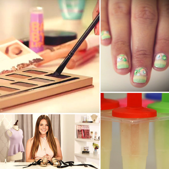 DVF Nail Art, a Ballet-Inspired DIY, and the Hottest Looks From Miami Swim Week: The Best of PopSugar TV This Week!