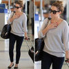 Lauren Conrad Wearing Black Skinny Jeans