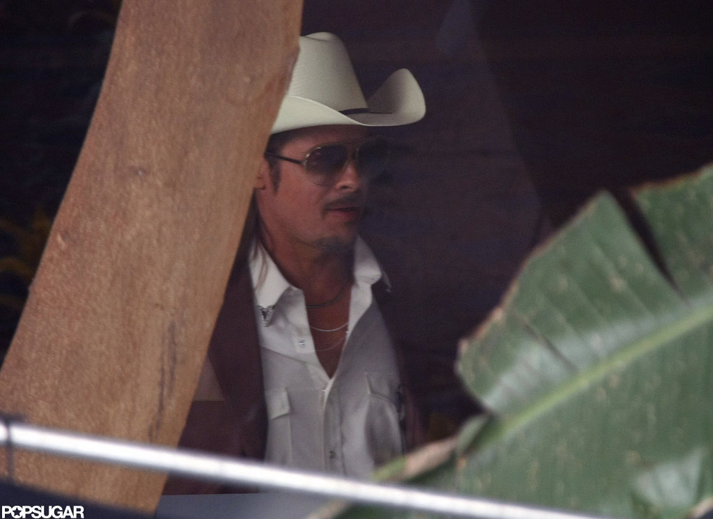Brad Pitt was in character for The Counselor.