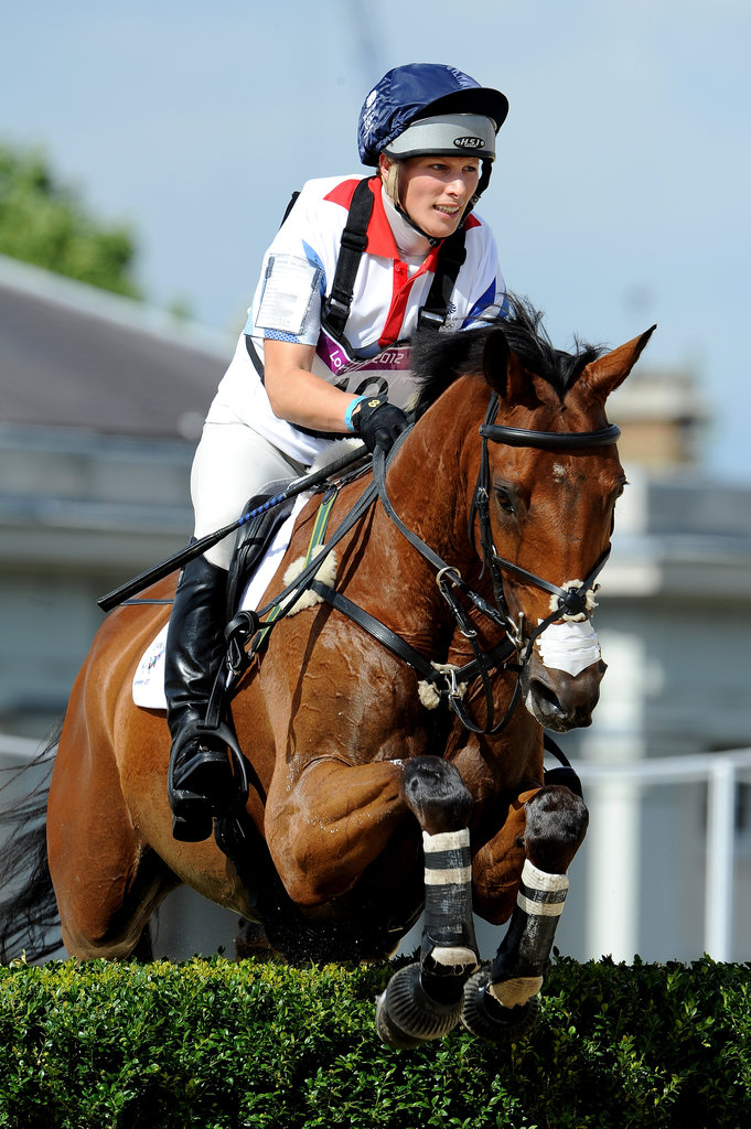Zara Phillips competed for Team GB.