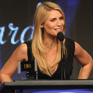 Claire Danes at Television Critics Association Awards