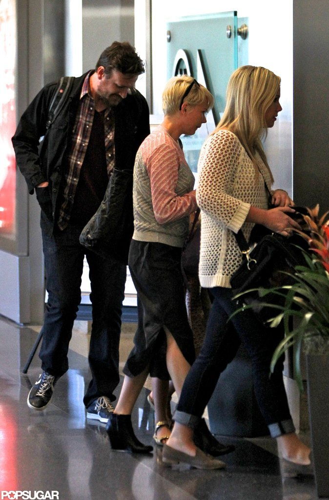 Jason Segel and Michelle Williams went to LA with Matilda Ledger.