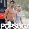 Shirtless Josh Duhamel Filming Safe Haven Pictures
