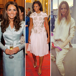 Kate Middleton, Michelle Obama, Stella McCartney modisch bei Olympia