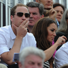 Kate Middleton and Prince William Pictures Watching Zara Phillips Get Silver at 2012 Olympics
