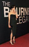 Rachel Weisz hushed the crowd at The Bourne Legacy's world premiere in NYC.