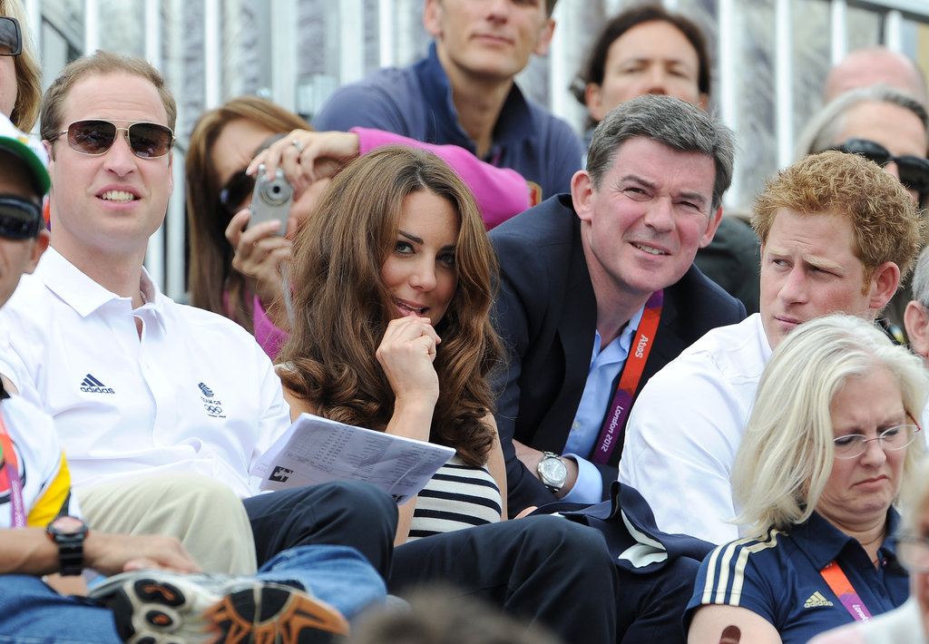 Kate Middleton looked nervous during Zara's competition.