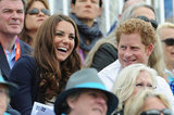 Harry and Kate enjoyed themselves.