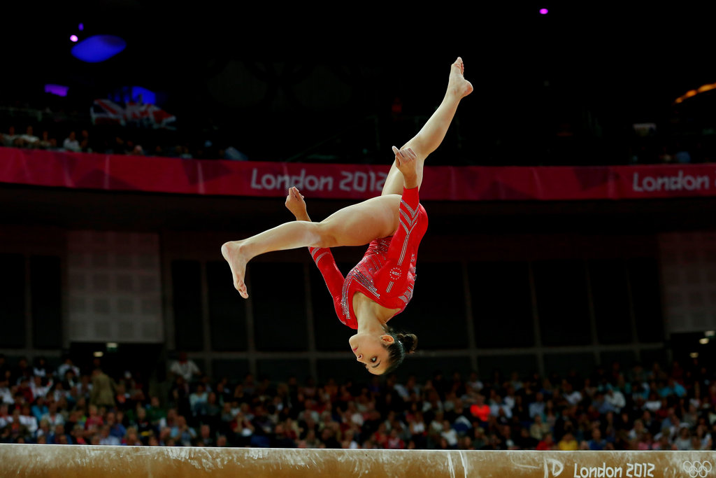 Tumbling on the Beam