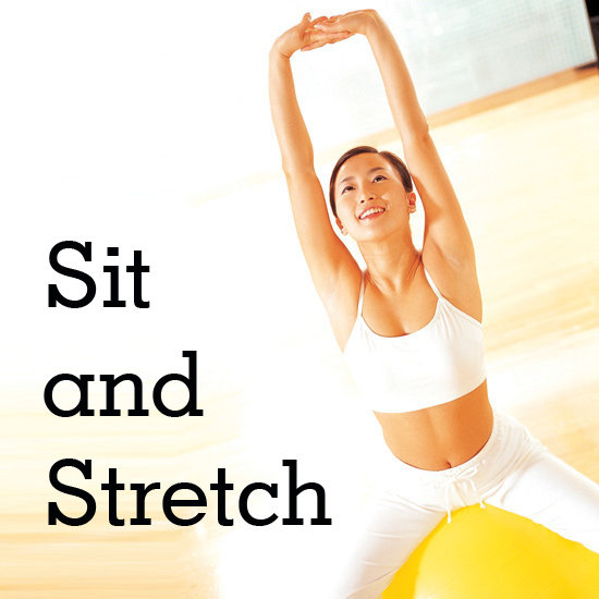 Sit on a Ball? 7 Stretches You Can Do at Your Desk