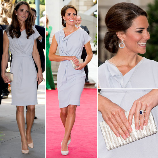 Now and Then: Kate Middleton Re-Works her Favourite Roksanda Ilincic Dress