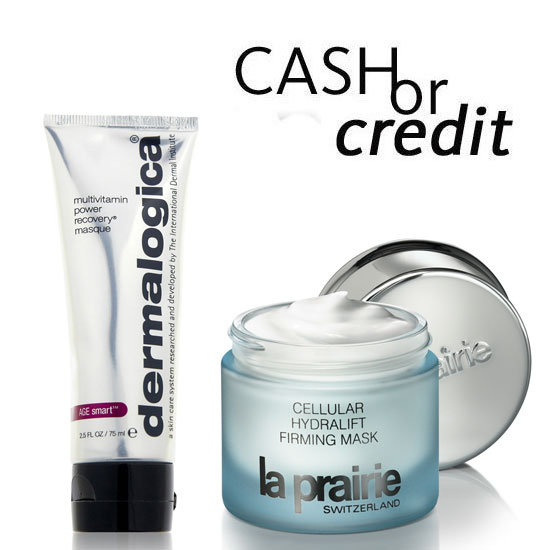 Cash or Credit: Hydrating Face Masks