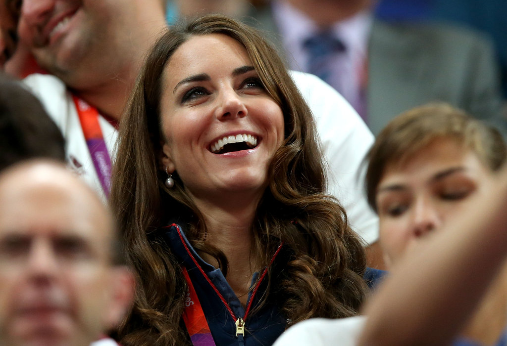 Kate Middleton Kicks Off Olympics Day Nine at Gymnastics