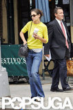 Katie Holmes went for a NYC stroll.