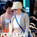 Rachel McAdams wore a hat in LA.