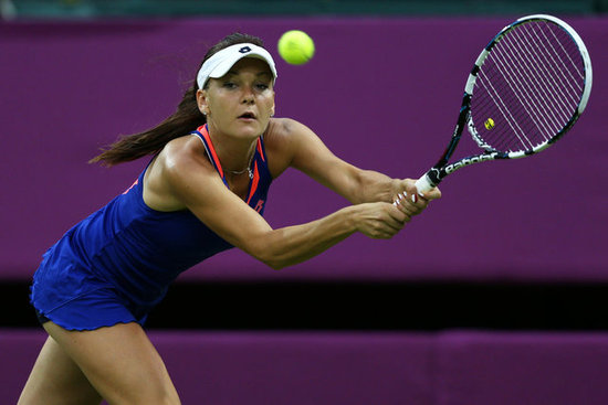 7. Agnieszka Radwanska