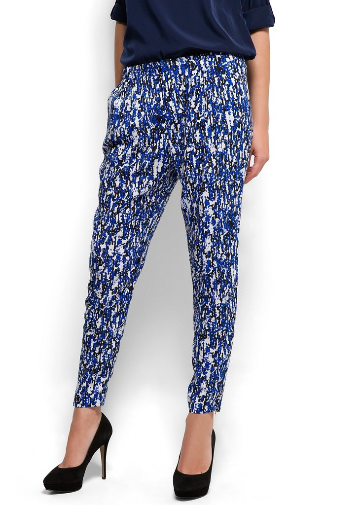 We still haven't gotten over our Summer love of digital prints, so opt for the trend in a bolder take for the cooler months. Mango Diffused Printed Trousers ($50)