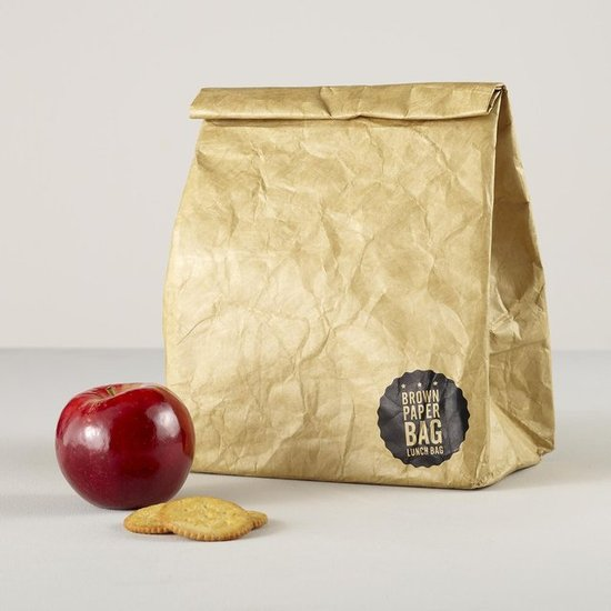 The Land of Nod Brown Paper Bag Lunch Bag ($20)