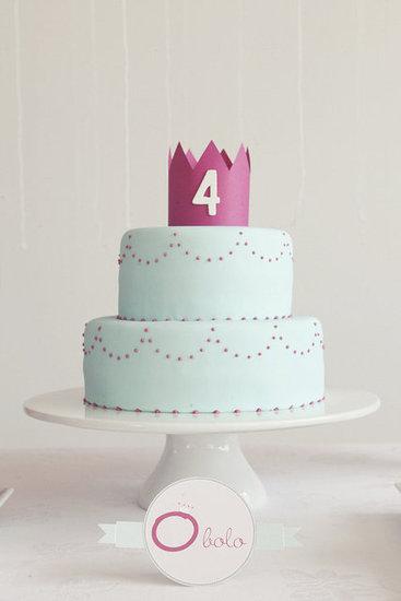 An Elegant Princess Cake