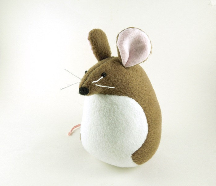 Large Brown Mouse ($25)