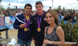 Ricky Berens and Conor Dwyer