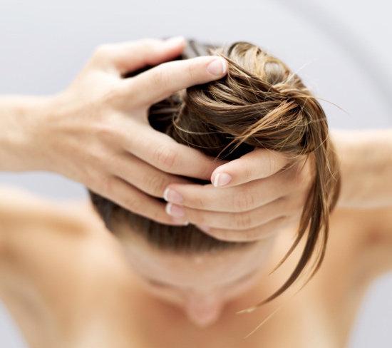 Маска для волос на водяной бане