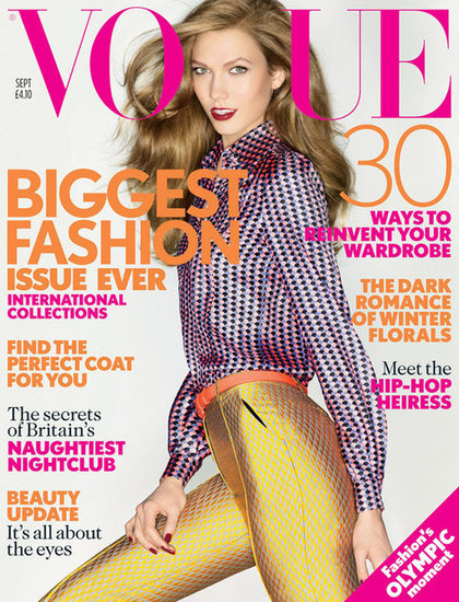 Vogue UK September 2012